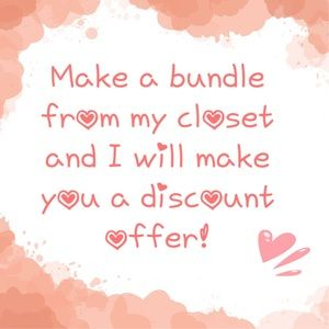 Accessories - 💖 Bundles = Discount Offers! 💝
